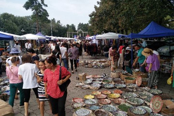 Craftmark participates in the International OIMO Festival, Kyrgyztan