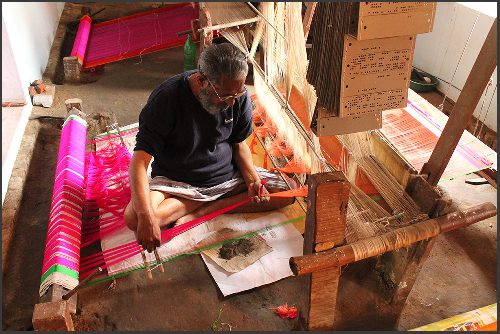 Empowering handloom weavers of Varanasi