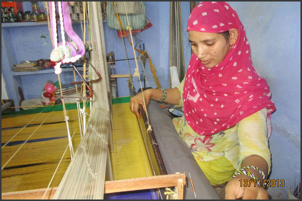 Empowering women weavers of Kota