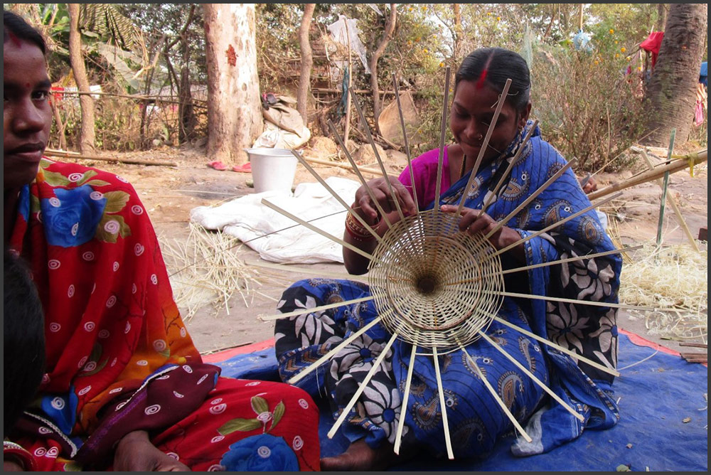 Sustainable livelihoods for Haldipada Bamboo artisans