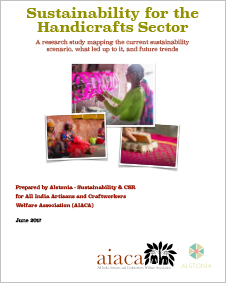Sustainability for the Handicrafts Sector