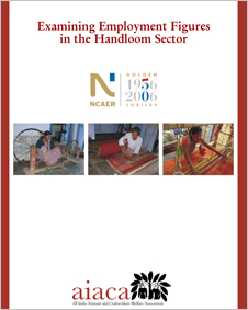 research-NCAER-study-employment-figures-handloom-sector