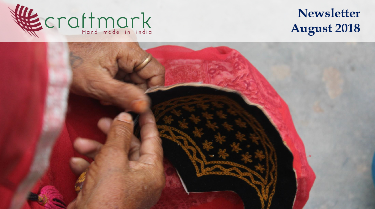 Craftmark Newsletter August 2018